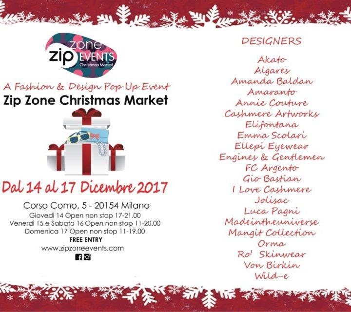 Arriva lo Zip Zone Christmas Market
