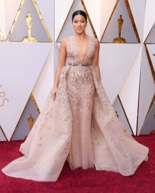 Gina Rodriguez in Zuhair Murad agli Oscars 2018, LA