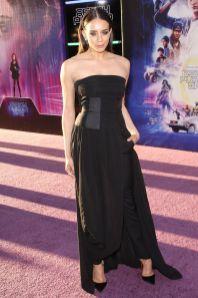 Hannah John-Kamen in Lanvin alla premiere di Ready Player One, Hollywood