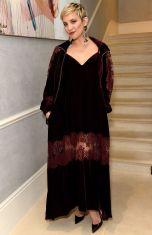 Kate Hudson con orecchini Adeam alla Kate Hudson and Fabletics dinner, London