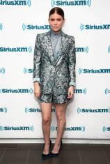 Kate Mara in Alice + Olivia ai SiriusXM Studios, New York
