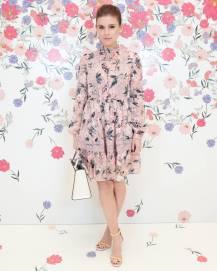 Kate Mara in Kate Spade al Kate Spade 'Bloom Bloom' Event, New York
