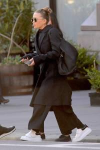 Mary-Kate Olsen in Alexander McQueen, NY