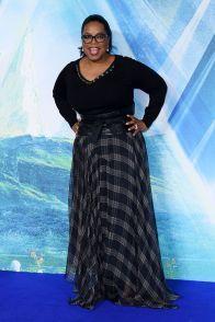 Oprah Winfrey in Brunello Cucinelli all''A Wrinkle In Time' Premiere, London