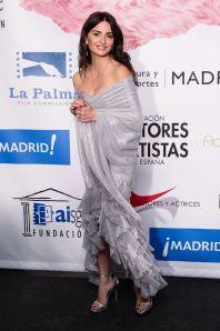 Penelope Cruz in Chanel agli Union Awards, Madrid