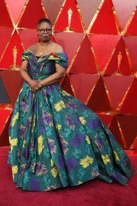 Whoopi Goldberg in Christian Siriano agli Oscars 2018, LA