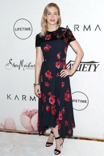Emily Blunt in Prada al Variety's Power Of Women New York
