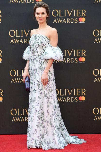 Kara Tointon in Blumarine agli Olivier Awards, London
