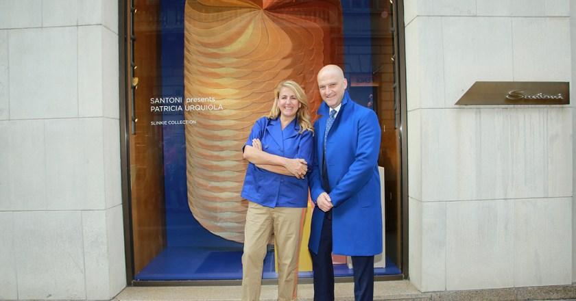 Santoni presenta Patricia Urquiola Slinkie Collection