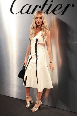 Sienna Miller al Cartier's Bold & Fearless Celebration, San Francisco