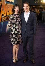 Sophie e Benedict Cumberbatch all'Avengers Infinity War fan event, London