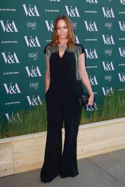 Stella McCartney in Stella McCartney al V&A Fashioned From Nature event, London