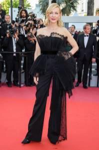 Cate Blanchett in Givenchy Haute Couture alla 'Capharnaum' premiere, Cannes Film Festival