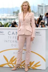 Cate Blanchett in Stella McCartney al Jury photocall, Cannes Film Festival