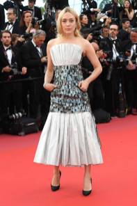 Chloe Sevigny in Chanel Couture all''Everybody Knows' premiere, Cannes Film Festival