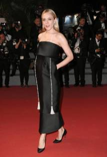 Chloe Sevigny in Chanel al Cannes Film Festival 2018