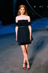 Clemence Poesy in Chanel al Chanel Cruise Presentation, Paris