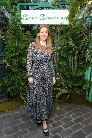 Lucie de la Falaise in Dior al Welcome Dinner di Christian Dior Couture S/S 2019 Cruise Collection, Paris