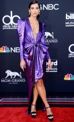 Dua Lipa in Alexandre Vauthier ai Billboard Music Awards, Las Vegas