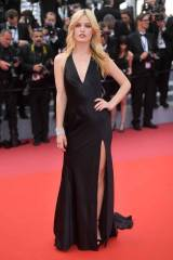 Georgia May Jagger in Twinset e gioieli Chopard al Cannes Film Festival 2018