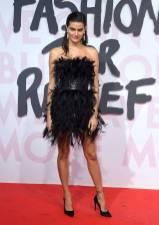 Isabeli Fontana in Roberto Cavalli al Fashion For Relief Gala, Cannes Film Festival
