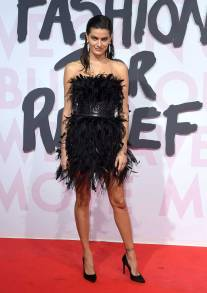 Isabeli Fontana in Roberto Cavalli al Fashion For Relief Gala, Cannes Film Festival
