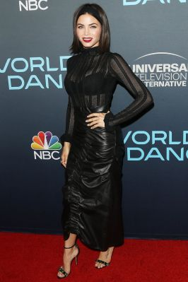 Jenna Dewan in Cinq à Sept top e Tanya Taylor al World Of Dance event ,Hollywood
