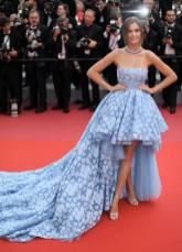 Josephine Skriver in Giambattista Valli al Cannes Film Festival 2018