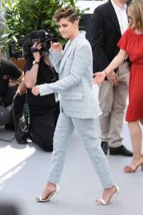 Kristen Stewart in Chanel al Jury photocall, Cannes Film Festival