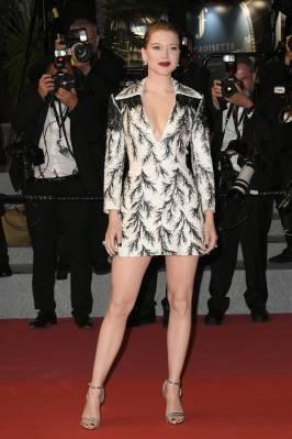Lea Seydoux in Louis Vuitton al Cannes Film Festival 2018