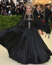 Madonna in Jean Paul Gaultier al Met Gala 2018