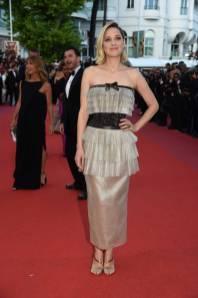Marion Cotillard in Chanel al Cannes Film Festival