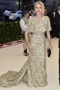 Naomi Watts in Michael Kors al Met Gala 2018