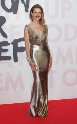 Natalia Vodianova in Jean-Louis Sabaji Couture al Fashion For Relief, Cannes Film Festival