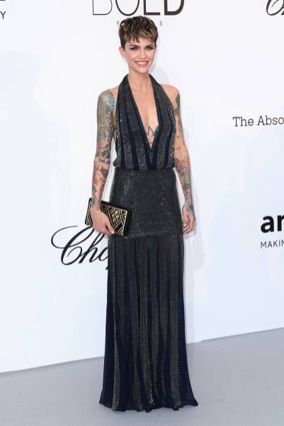 Ruby Rose all'amfAR Gala, Cannes