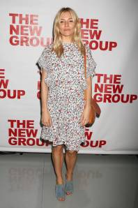 Sienna MIller al 'Peace For Mary Frances' opening night, New York