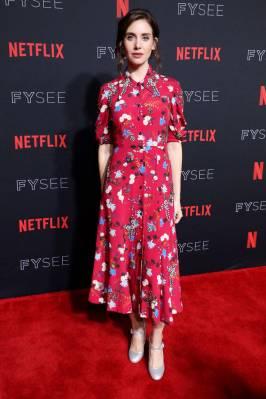Alison Brie in Erdem al 'Glow' FYSee event, Los Angeles