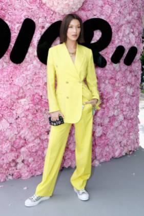 Bella Hadid al Dior men's SS 2019 show, Paris