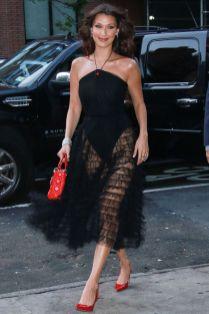 Bella Hadid in Dior, NY