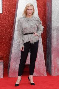 Cate Blanchett in Louis Vuitton all''Ocean's 8' film premiere, London