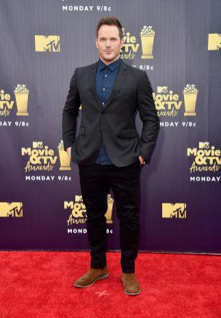 Chris Pratt agli MTV Movie & TV Awards 2018