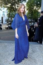 Jessica Chastain al Piaget's sunlight escape high jewellery collection, Paris