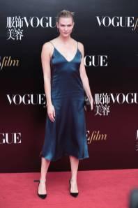 Karlie Kloss alla 'Vogue' film premiere, Shanghai