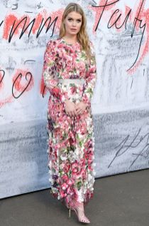 Lady Kitty Spencer in Dolce&Gabbana al Serpentine Gallery summer party, London.