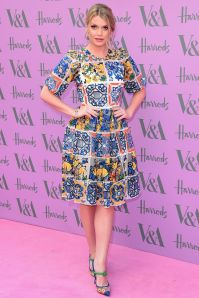 Lady Kitty Spencer in Dolce&Gabbana al V&A summer party, London