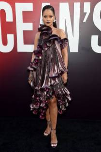 Rihanna in Givenchy all''Ocean's 8' World Premiere, New York