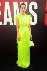 Sarah Paulson in PRada all''Ocean's 8' World Premiere, New York