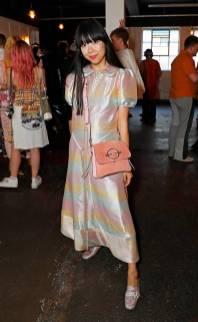 Susie Lau al Fashion East and Bistrotheque LFWM dinner, London