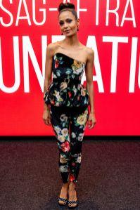 Thandie Newton in Attico al Westworld event, New York.