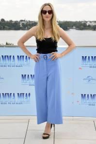 Amanda Seyfried al 'Mamma Mia! Here We Go Again' photocall, Hamburg
